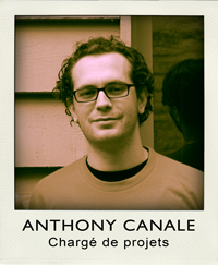 Anthony Canale - Charg de projets
