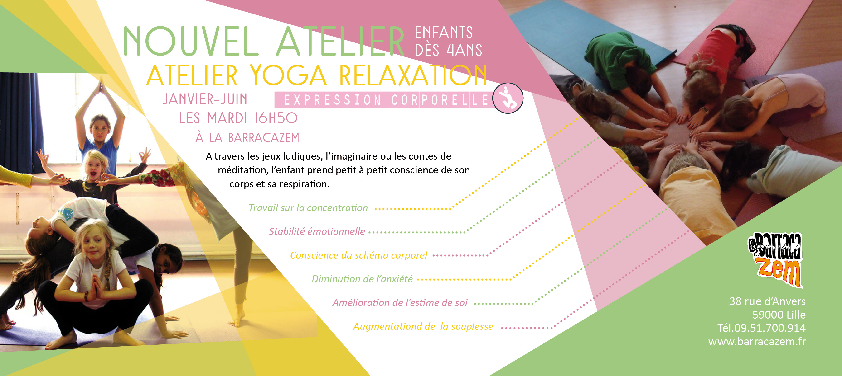 3cours yoga